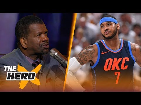 Rob Parker on reports Carmelo Anthony is out in OKC, Lakers building around LeBron   NBA   THE HERD