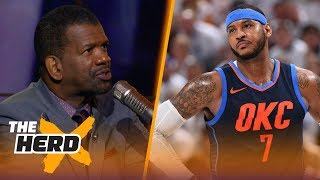 Rob Parker on reports Carmelo Anthony is out in OKC, Lakers building around LeBron | NBA | THE HERD