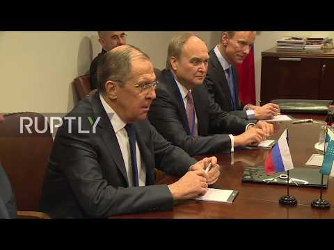 UN: Lavrov meets with Kyrgyz and Uzbek FMs on sidelines of UNSC