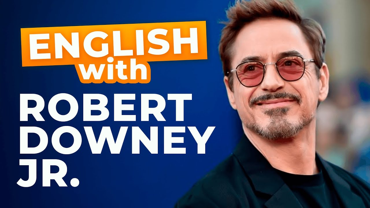 Learn English with Robert Downey Jr. | How He Got his Role for Iron Man