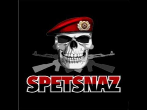 Official Spetsnaz Logo Russian warrior...
