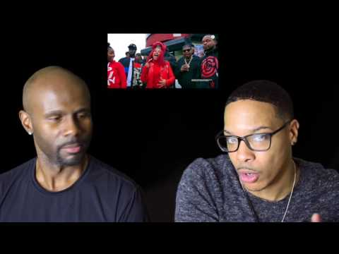 Cardi B- Red Barz (REACTION!!!)