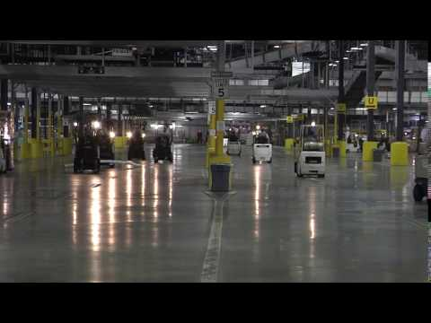 UPS World Freight Facility Time Lapse