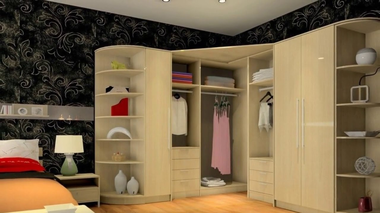 Wardrobe Interior Designs For Bedroom Indian Youtube