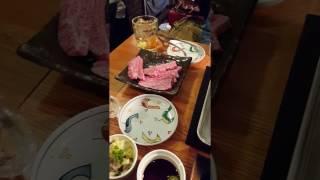 Kobe Beef Meal at Han no Daidokoro Dogenzaka