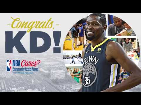 KD Wins Seasonlong Community Assist Award