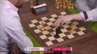 GM Carlsen (Norway) - Vachier-Lagrave (France) FF + PGN