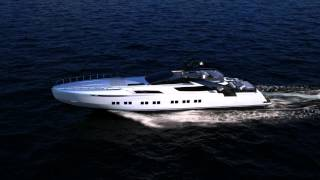 Luxury Yacht - Pershing 140 Project