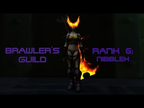 WoW BfA 8.1.5 Brawler's Guild - Rank 6 - Nibbleh