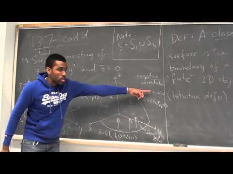 Math 392 Lecture 13 - Surface integrals over scalar fields and vector fields