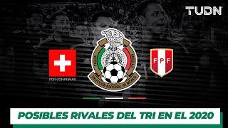 Los posibles rivales de la Selección Mexicana en el 2020 I TUDN