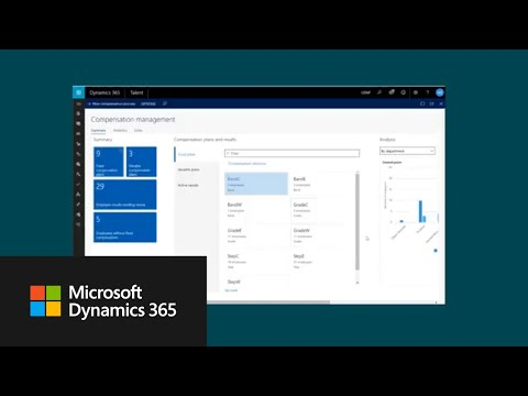How to manage compensation in Dynamics 365 for Talent