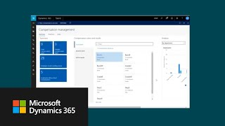 Dynamics 365 for talent helps you manage standard compensation activities, including defining fixed and variable plans, as well spot, cyclica...