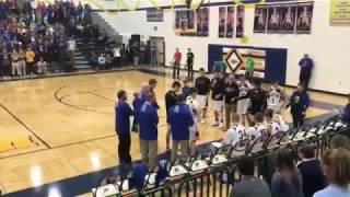 Wisconsin Dells vs Mauston Boys Basketball. 1st Half