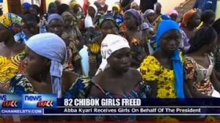 82 Chibok Girls Swapped for 5 Boko Haram Leaders