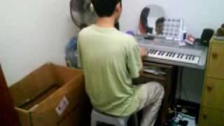 my best friend eddie performing keyboard version hei fun lei by bey...