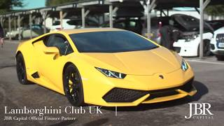Track day coaching with a Lamborghini Huracan - JBR Capital Drivers Club