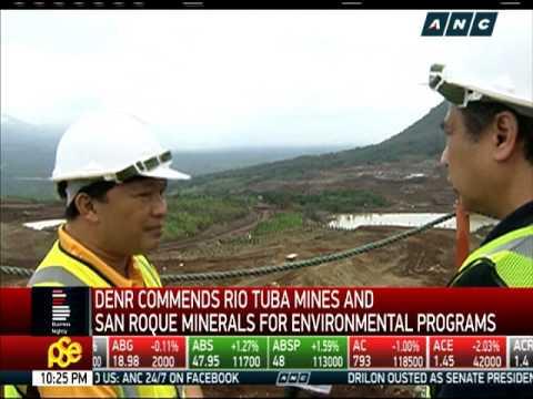 DENR commends 2 mines for environmental programs