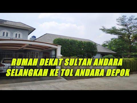 Rumah Dijual Di Andara Depok Dekat Rumah Rafi Ahmad Youtube