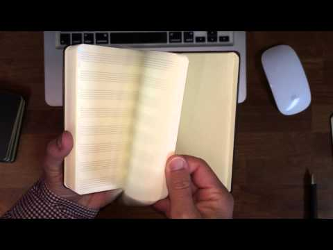 Moleskine Pocket Music Notebook Review