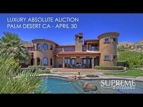 Luxury Home For Sale in Palm Desert California [6,254 Sq Ft]