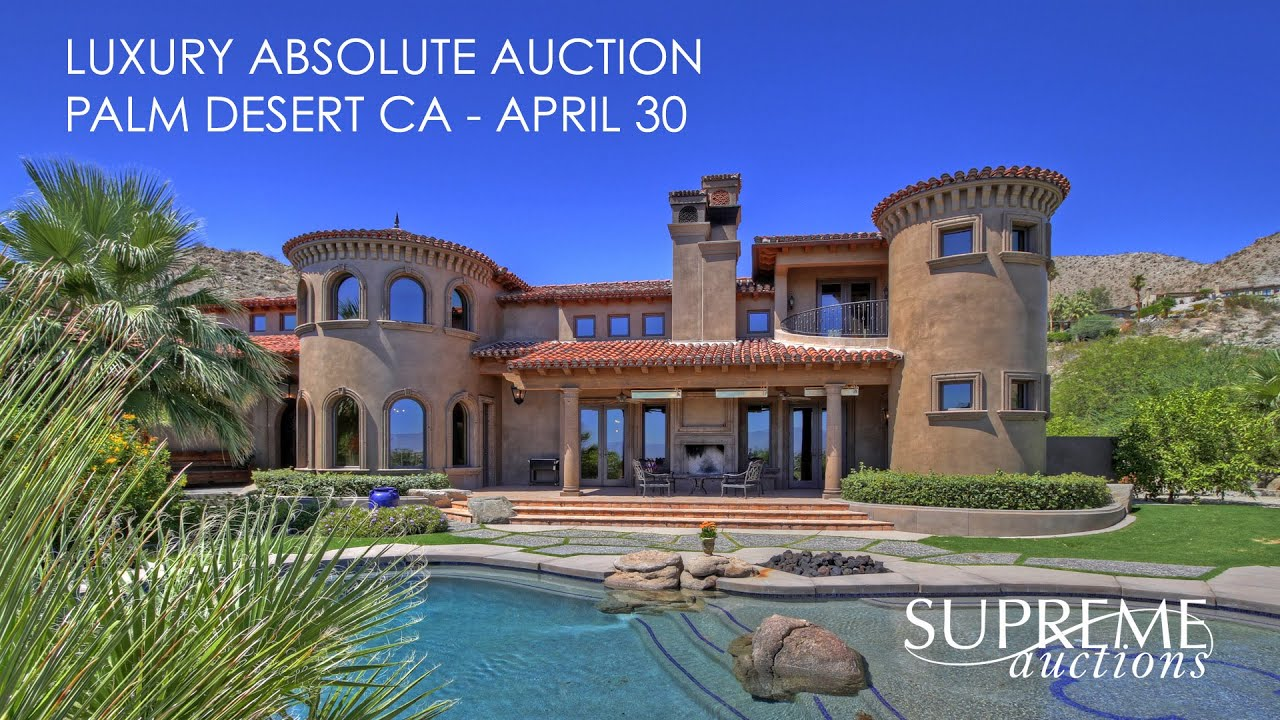 Luxury Home For Sale in Palm Desert California [6,254 Sq ...