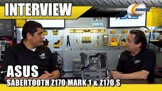 Video ASUS SABERTOOTH Z170 MARK 1 & Z170 S Motherboard Interview - Newegg TV download MP3, 3GP, MP4, WEBM, AVI, FLV Juli 2018