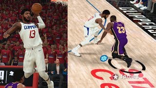 NBA 2K20 My Career EP 65 - Half Court Lob! LeBron Cold! CFG1