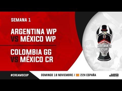 MEXICO VS ARGENTINA + RISAS Y DESMADRE CON KOJISAN | CREAM´S CUP | CLASH ROYALE