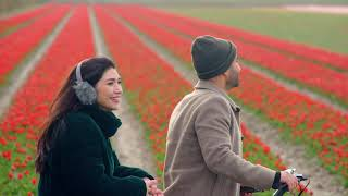 This film won't show what Dutch flowers are really like. Live it in the Netherlands