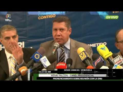 Venezuela - Henri Falcón aseguró que la...
