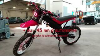 moto cross électrique DIY de Laurent
