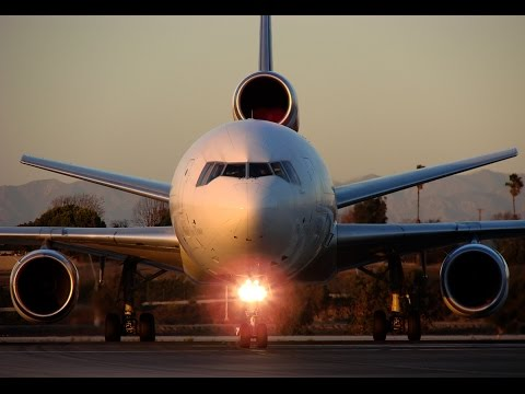 Cargo Jets at Los Angeles International Airport (LAX)