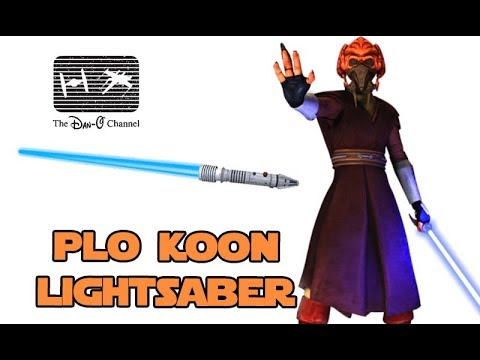 Rubies Star Wars Clone Wars Plo Koon Lightsaber Accessory