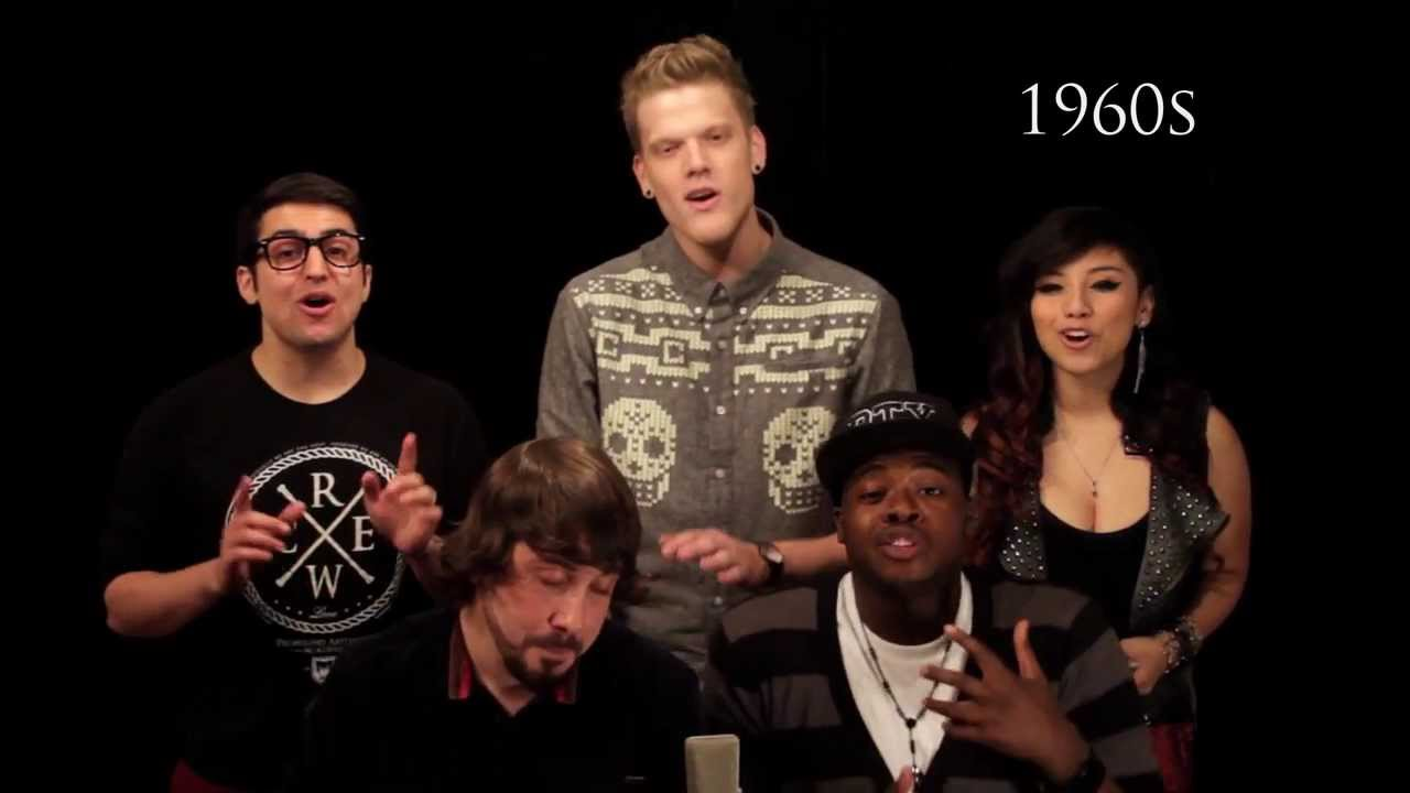 Evolution of Music - Pentatonix #1