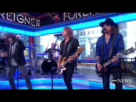 Foreigner perform 'Cold As Ice' on Good Morning America