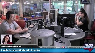 Mônica Bergamo: A saída do ex-presidente Lula da prisão