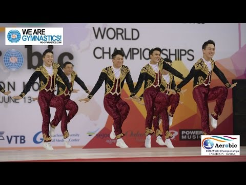 Korea  (KOR) - 2016 Aerobic Worlds, Incheon (KOR) - Qualifications Dance
