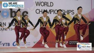 Korea  (KOR) - 2016 Aerobic Worlds, Incheon (KOR) - Qualifications Dance