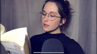 ASMR - I read you a story IN FRENCH! (whispering, semi-inaudible)