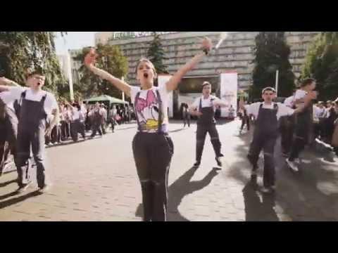 Видео, Зажигательный флешмоб на День города 2015 от UnExFeel