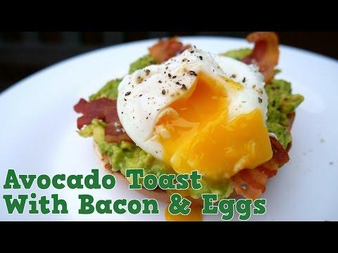 Easy Eggs, Avocado & Bacon Brunch Recipe! Yum It