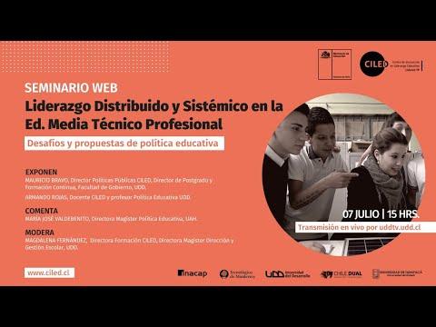 Seminario | Liderazgo Distribuido y Sistémico en la Ed. Media Técnico Profesional