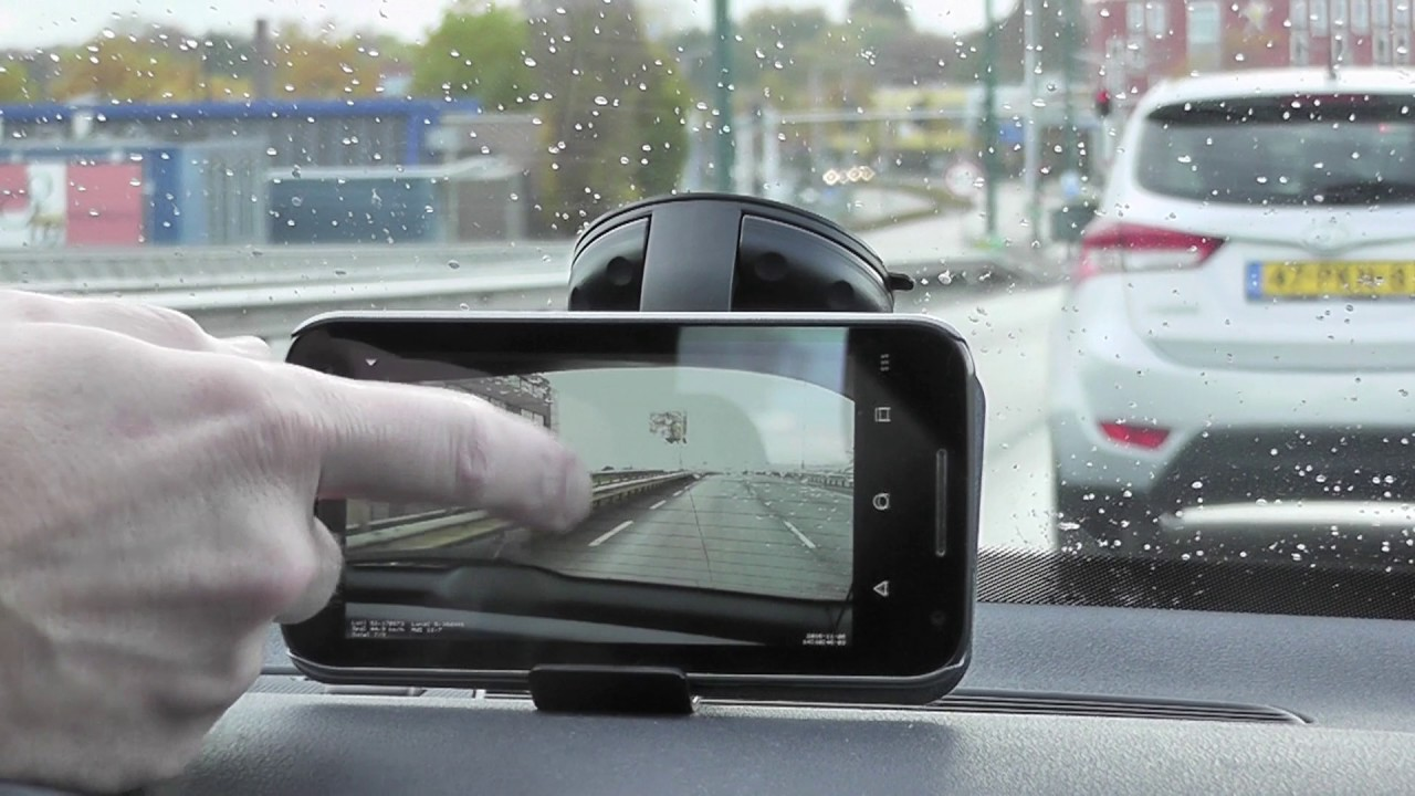 The Raspberry Pi Dashcam Streaming To A Mobile Phone Youtube