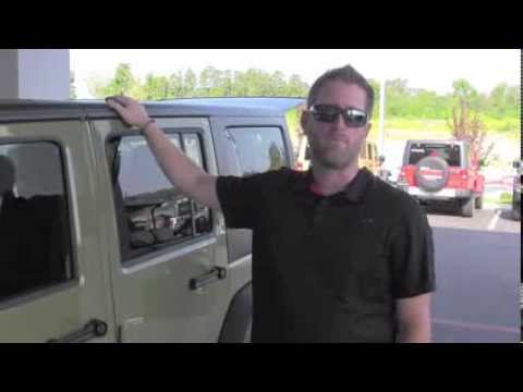 How to Take the Hard Top Off Your Jeep Wrangler | Steve Landers Chrysler Dodge Jeep