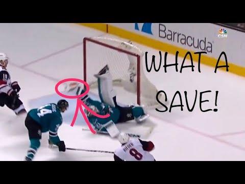 San Jose Sharks Martin Jones Highlights Best Saves Compilation