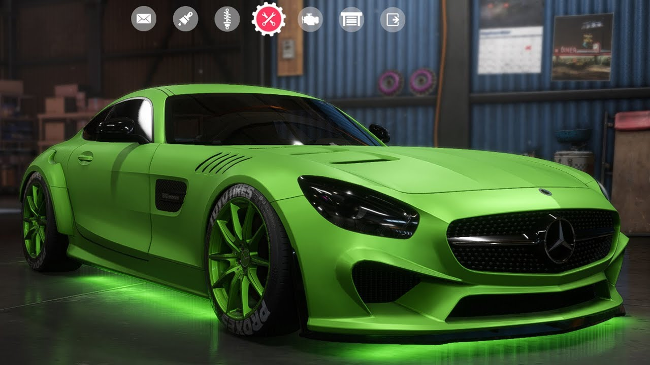 Need For Speed Payback Mercedes Amg Gt Customize