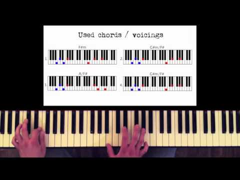 How To Play: Michael Jackson - Billie Jean. Original Piano Lesson. Tutorial By Piano Couture.