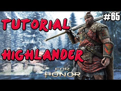 FOR HONOR | GUIA TUTORIAL PVP HIGHLANDER (CELTA) | COMBOS Y TRUCOS | VIKINGO | GAMEPLAY ESPAÑOL