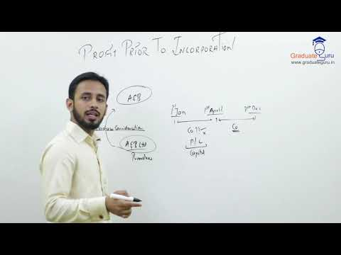 TYBCOM-FInancial Accounts-Profit Prior to Incorporation - Sums on PPI